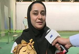صحبتهای ساره جوانمردی پس از کسب دومین مدال طلای پارالمپیکی