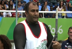 کسب مدال نقره امیری در پرتاب وزنه پارالمپیک