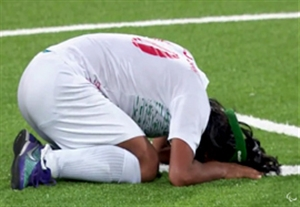 اشکهای بازیکنان ایران بعد از شکست در فینال فوتبال 5 نفره پارالمپیک