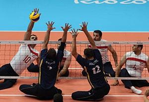 خلاصه والیبال نشسته ایران 3-1 بوسنی