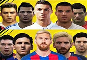 تغییر چهره ستارگان فوتبال در سری بازی های فیفا