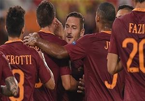 خلاصه بازی آاس رم 4-0 آسترا