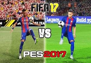مقایسه جذاب حرکات انفرادی FIFA 17 و PES 2017