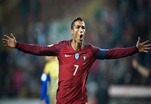 خلاصه بازی پرتغال 6-0 آندورا (درخشش رونالدو)