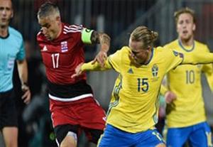 گل بازی لوکزامبورگ 0-1 سوئد
