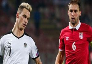 گلهای بازی صربستان 3-2 اتریش
