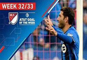 8گل برتر لیگ MLS در هفته 32 و 33