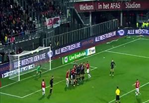 5 گل برتر هفته نهم لیگ هلند