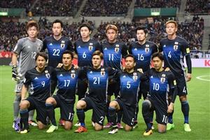 ترکیب تیم ملی ژاپن اعلام شد