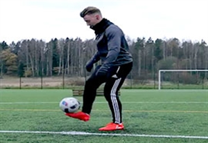 آموزش 5 حرکت نمایشی فوتبال