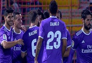 خلاصه بازی لئونسا 1-7 رئالمادرید