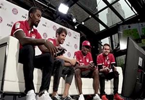 بازیکنان بایرن مونیخ و چالش بازی فیفا 17