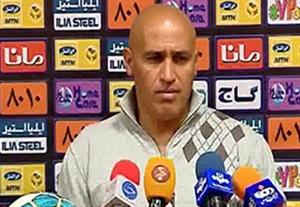 کنفرانس خبری منصوریان قبل بازی با مس کرمان