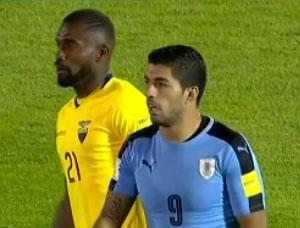 خلاصه بازی اروگوئه 2-1 اکوادور