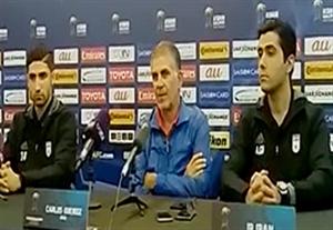 کنفرانس خبری مربیان قبل از بازی سوریه - ایران