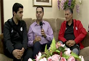 آخرین تمرین ایران و مصاحبه با کیروش قبل از بازی با سوریه