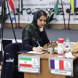 سقوط 10 پلهای خادمالشریعه در رنکینگ جهانی شطرنج