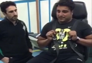 آغاز تمرینات احسان حدادی بعد از جراحی پای چپ