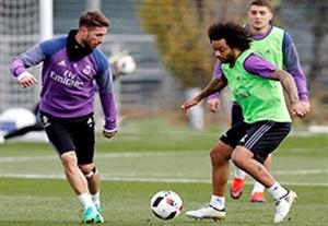 آخرین تمرین رئال مادرید قبل از بازی با لئونسا