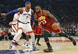 خلاصه بسکتبال کلیولند 126-94 نیویورک نیکس