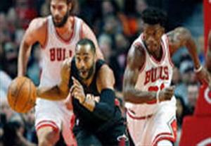 خلاصه بسکتبال میامی 100-105 شیکاگو بولز