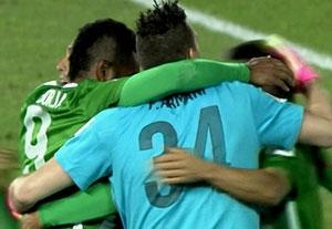خلاصه بازی کلوب آمه ریکا 2-2 اتلتیکو ناسیونال (پنالتی3-4)