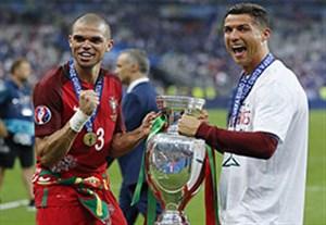 قهرمانان تمام رقابت های فوتبال اروپا در سال ۲۰۱۶