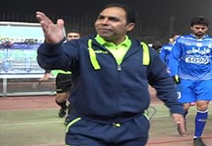 درگیری محسن خلیلی با داور چهارم در بازی مقابل استقلال (اختصاصی ورزش 3)