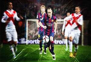 گلهای برتر بارسلونا در مرحله یک سی و دوم جام حذفی