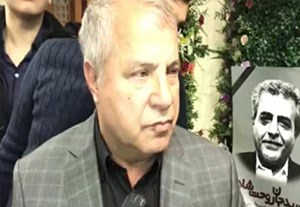 انتقاد پروین از مسئولین در حاشیه مراسم ختم مرحوم سیدعلیخانی