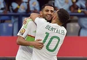خلاصه بازی الجزایر 2-2 زیمبابوه