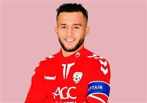 فیصل اولین بازیکن افغانستانی لیگ برتر