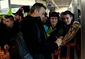 ورود بازیکنان بارسلونا به ایالت باسک