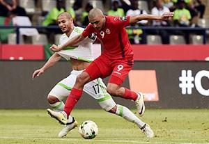 خلاصه بازی الجزایر 1-2 تونس