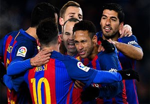 خلاصه بازی رئالسوسیداد 0-1 بارسلونا