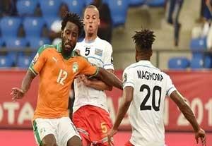 خلاصه بازی ساحلعاج 2-2 جمهوری دموکراتیک کنگو