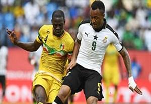خلاصه بازی غنا 1-0 مالی