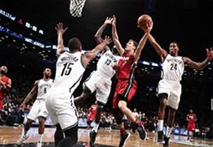 خلاصه بسکتبال میامی 109-106 بروکلین نتس