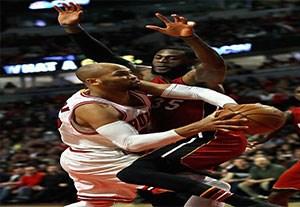 خلاصه بسکتبال میامی 100-88 شیکاگو بولز