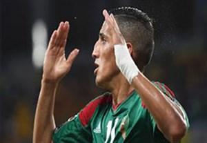 گل بازی مصر 1-0 مراکش