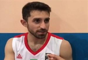 حواشی بسکتبال ایران - سوریه