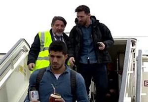 ورود بارسلونا به مادرید برای تقابل با اتلتیکومادرید