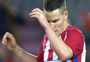 پنالتی از دست رفته گامیرو در مقابل بارسلونا