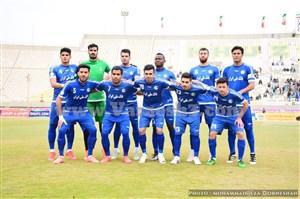 اس.خوزستان تیم یک نیمهای لیگ برتر
