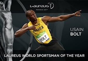 اوسین بولت بهترین ورزشکار سال در لاروس 2017