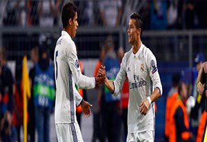 حضور 90 دقیقه واران و رونالدو در مرحله گروهی لیگ قهرمانان