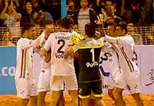گلهای فوتبال ساحلی ایران 3-3 اوکراین (پنالتی 8-7)