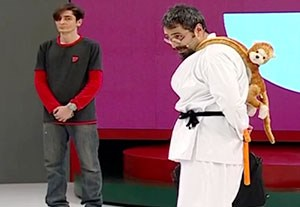 آموزش کمدی کاراته به سبک استاد کهنمویی!