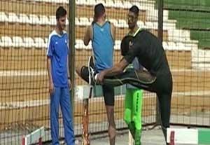 اردوی آمادگی دوندگان سرعتی تیم ملی در کیش
