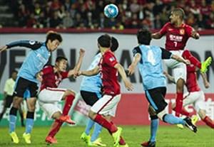 خلاصه بازی گوانگژو چین 1-1 کاوازاکی